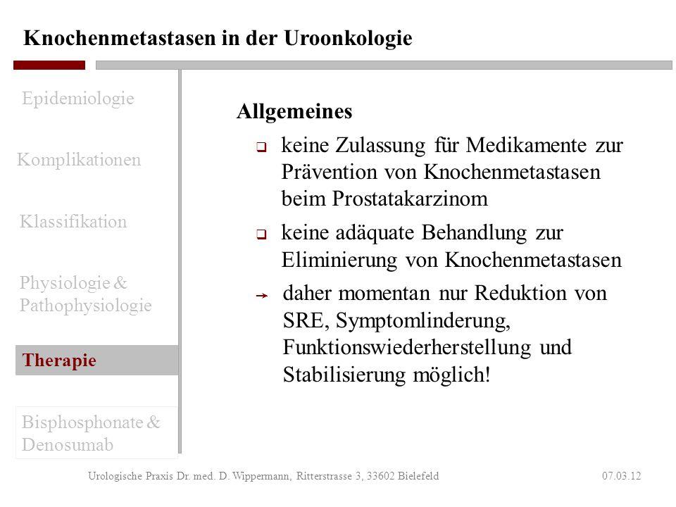 ADT - induzierter Knochenverlust wird über den RANK/RANK-Ligand-Signalweg vermittelt 07.03.12Urologische Praxis Dr. med. D. Wippermann, Ritterstrasse