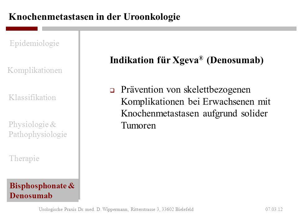 Knochenmetastasen in der Uroonkologie 07.03.12Urologische Praxis Dr. med. D. Wippermann, Ritterstrasse 3, 33602 Bielefeld Ergebnisse HALT-Studie (PROL