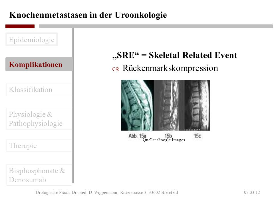 Studie 103 – Sekundärer Endpunkt 07.03.12Urologische Praxis Dr.