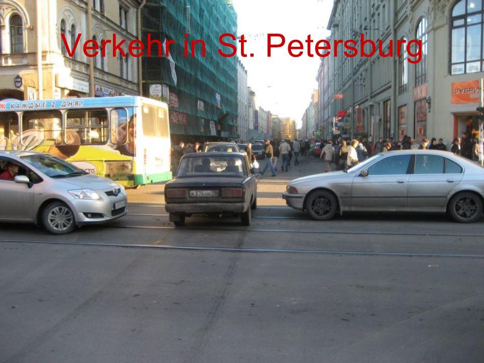 Verkehr in St. Petersburg