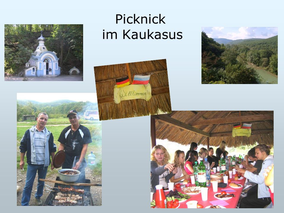 Picknick im Kaukasus
