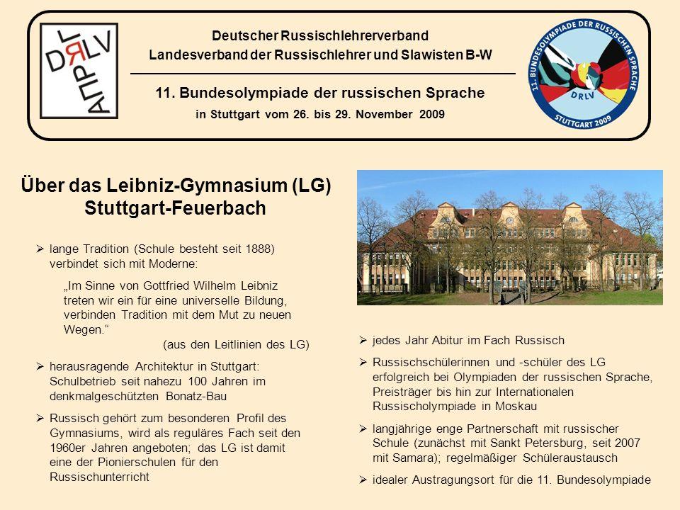 4.Programm der 11. Bundesolympiade in Stuttgart Donnerstag, 26.