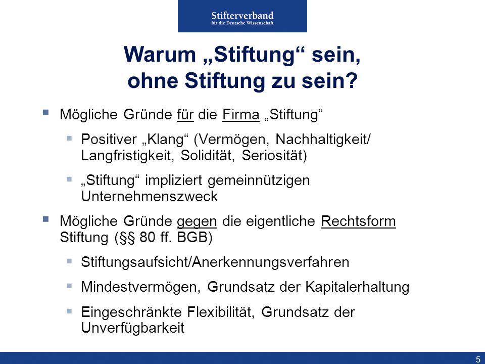 16 Rechtsfähige Körperschaft, geregelt im GmbHG Gründung durch eine oder mehrere Personen Entstehung: Notarielle Beurkundung Gesellschaftervertrag & Satzung; zzgl.