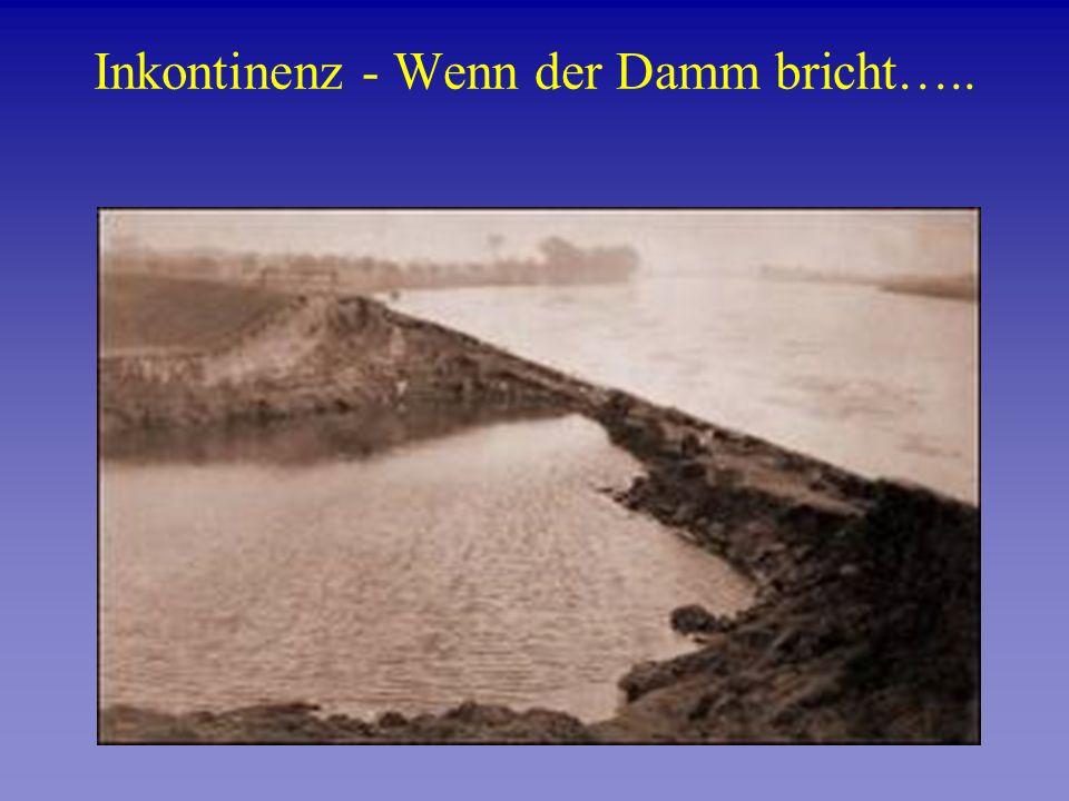 Inkontinenz - Wenn der Damm bricht…..