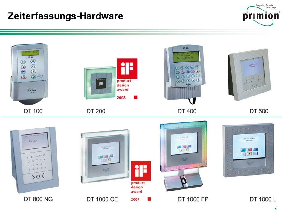 6 Zeiterfassungs-Hardware