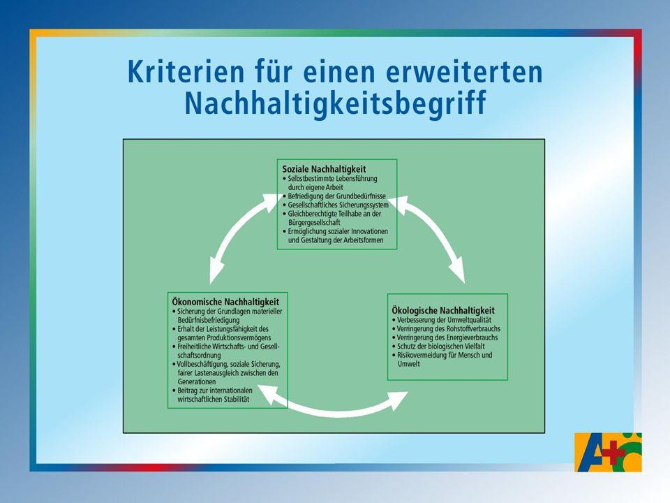 Nachhaltigkeitspolitik: Ansatzpunkte Strukturwandel ökologisch gestalten Strukturwandel sozial gestalten Innovationen Arbeitszeiten Konsumwandel