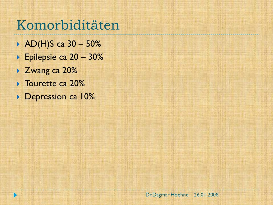 Therapie mit Betroffenen Einzeltherapie Je nach Alter Wahl des Zugangs: z.B.