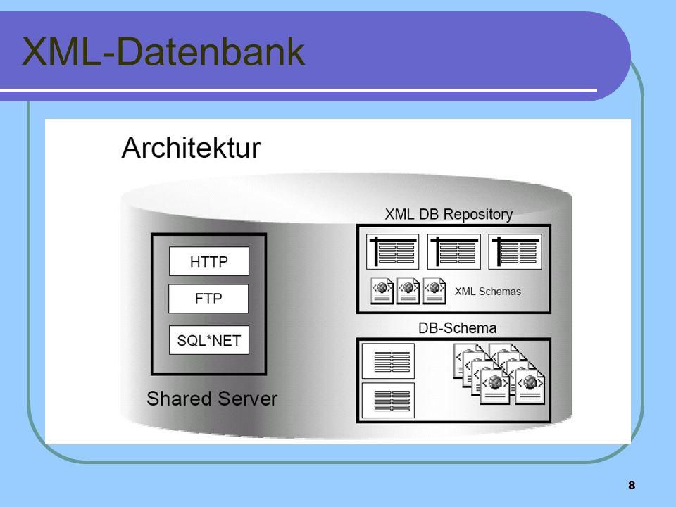 8 XML-Datenbank