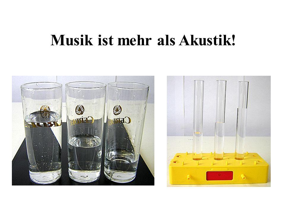 Musik ist mehr als Akustik!