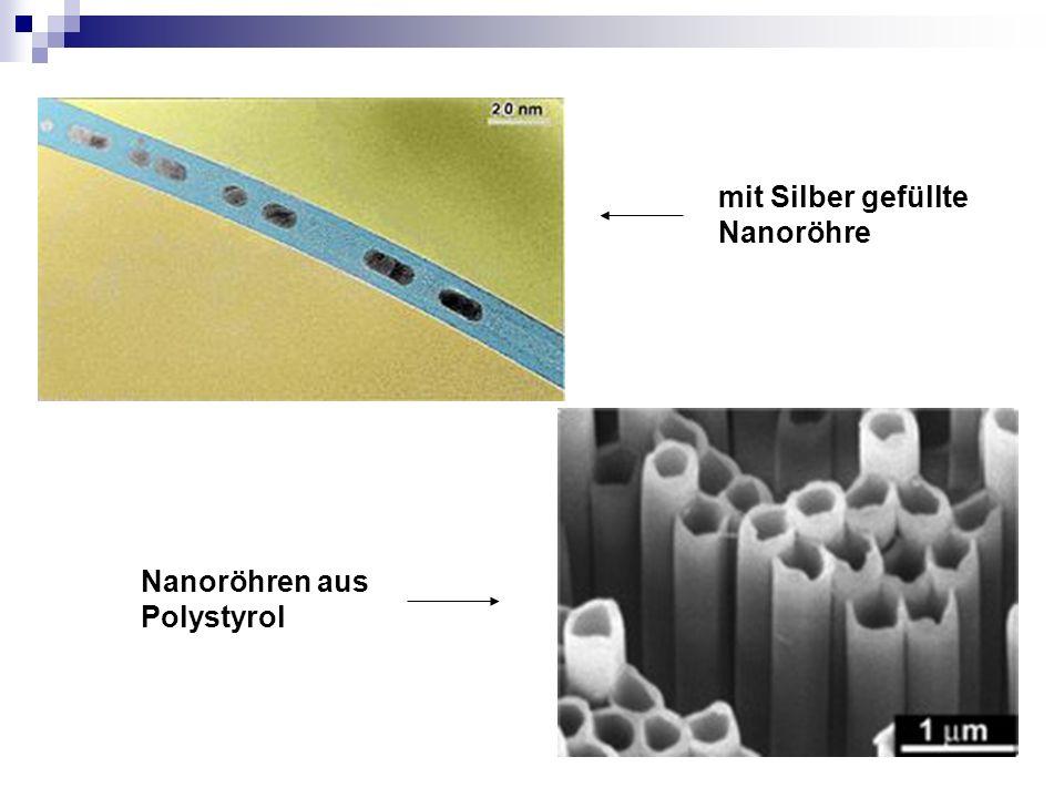 mit Silber gefüllte Nanoröhre Nanoröhren aus Polystyrol