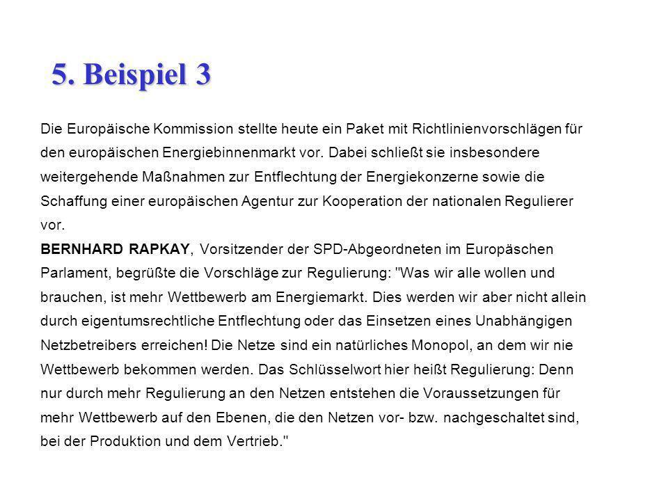 Die Europäische Kommission stellte heute ein Paket mit Richtlinienvorschlägen für den europäischen Energiebinnenmarkt vor. Dabei schließt sie insbeson