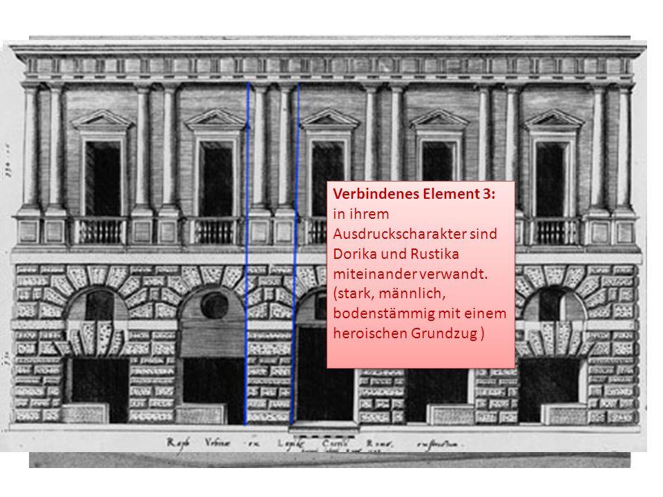 Der Palazzo Caprini (1501 und 1510 )ist in seiner Bedeutung sehr hoch einzuschätzen. Er bot erstmals eine Fassade mit Formen von einer geradezu dränge