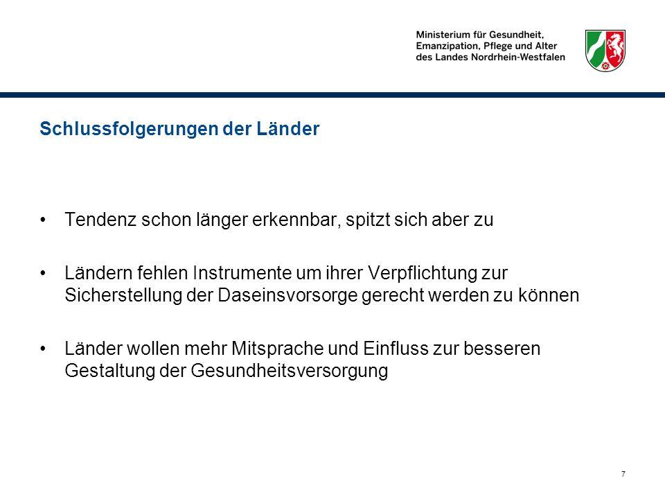 28 Eckpunkte von CDU/CSU und FDP vom 08.04.2011 ( I ) Eckpunkte vom 08.04.2011 zwischen Koalitionsfraktionen im Bund und BMG abgestimmt entsprechen in wesentlichen Punkten nicht dem Ergebnis der Rösler-Kommission.