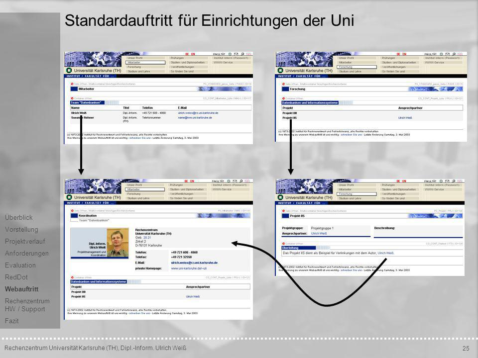 Rechenzentrum Universität Karlsruhe (TH), Dipl.-Inform.
