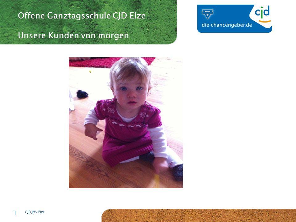 CJD-Musterstadt CJD JHV Elze 1 Offene Ganztagsschule CJD Elze Unsere Kunden von morgen
