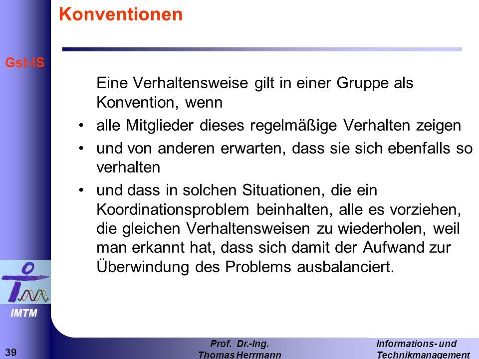 39 Informations- und Technikmanagement Prof.Dr.-Ing.