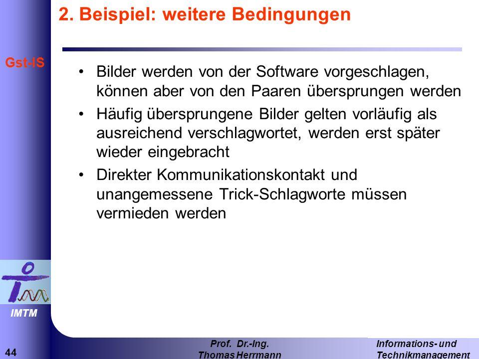 44 Informations- und Technikmanagement Prof.Dr.-Ing.