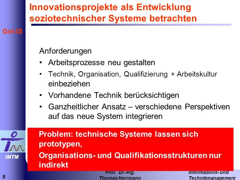 8 Informations- und Technikmanagement Prof.Dr.-Ing.