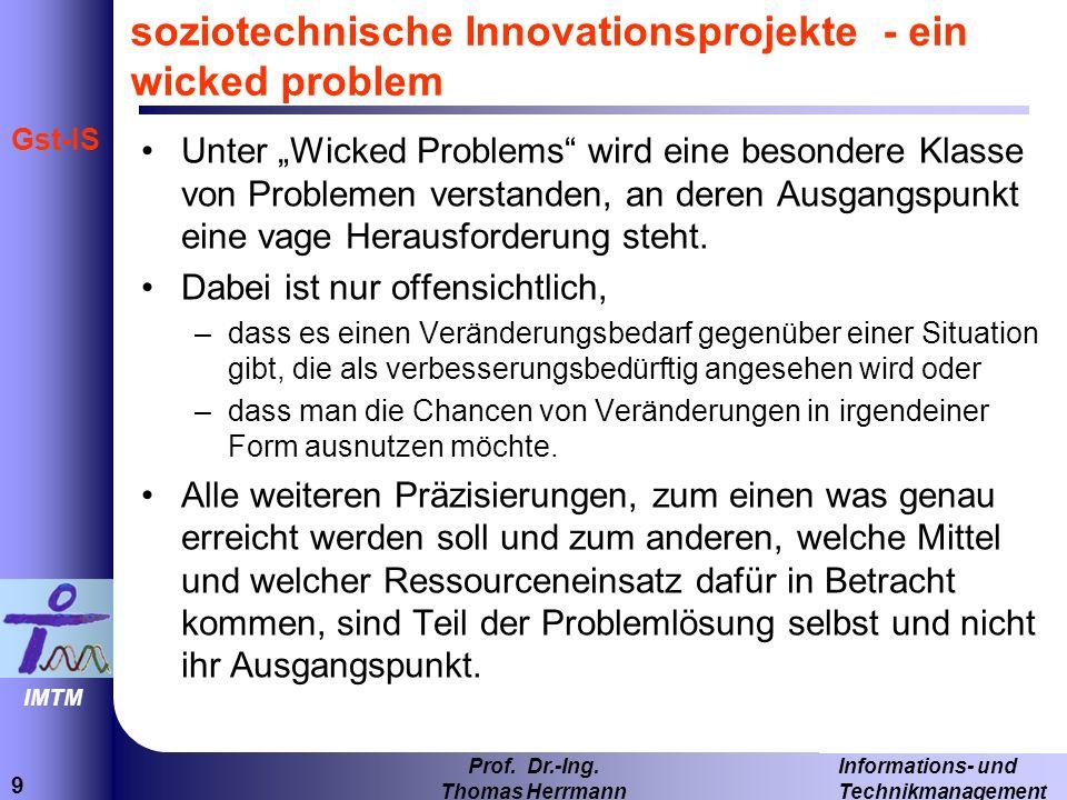 40 Informations- und Technikmanagement Prof.Dr.-Ing.