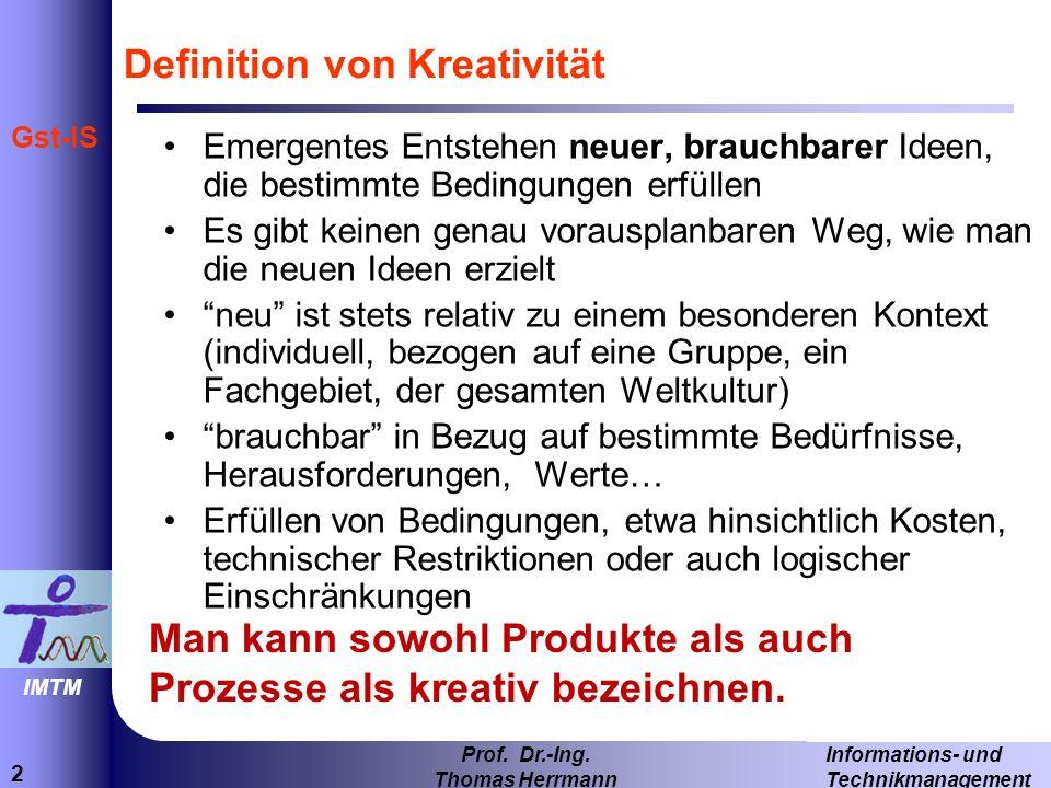 2 Informations- und Technikmanagement Prof.Dr.-Ing.