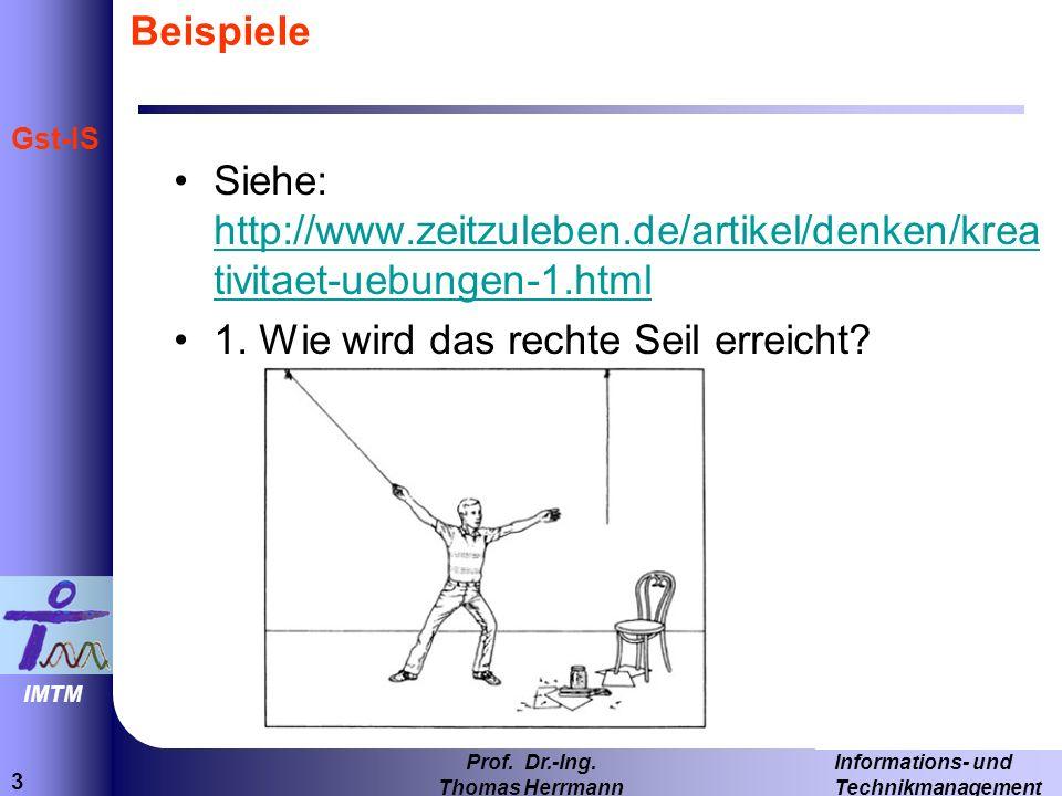 3 Informations- und Technikmanagement Prof.Dr.-Ing.