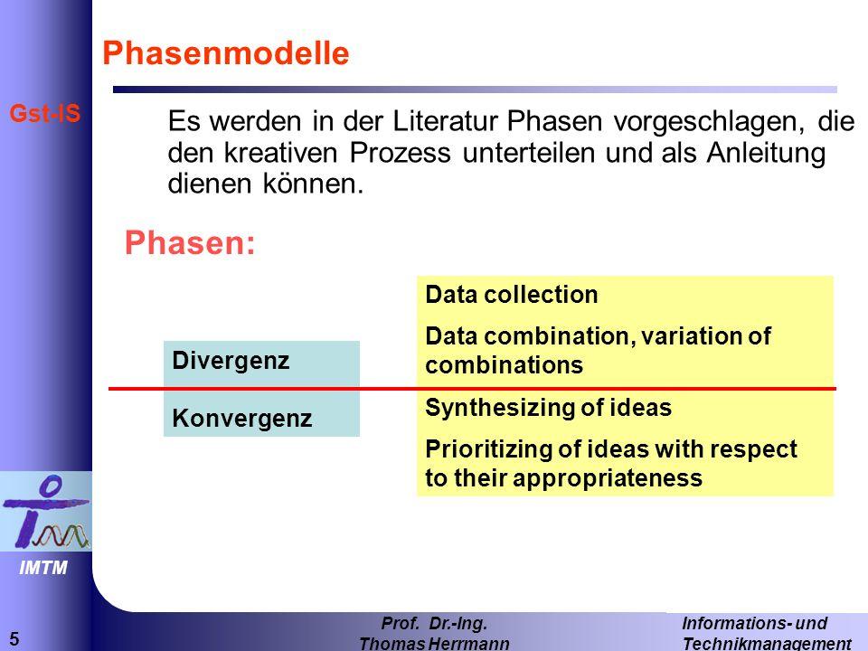 36 Informations- und Technikmanagement Prof.Dr.-Ing.