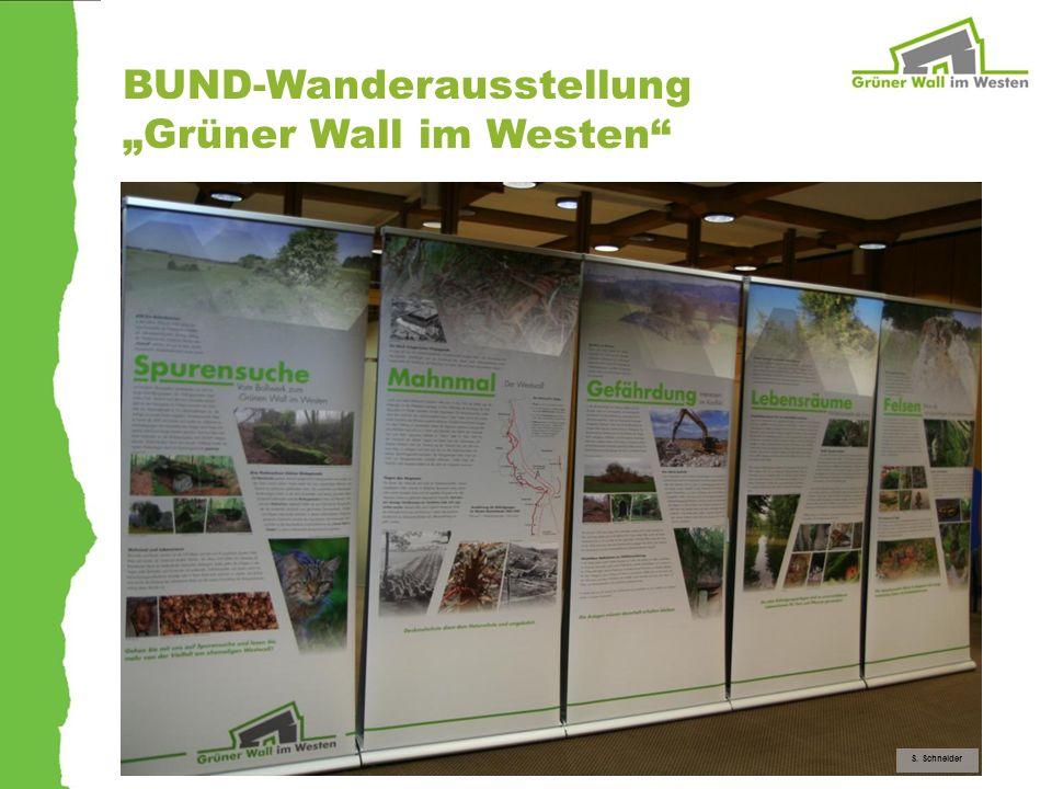 BUND-Wanderausstellung Grüner Wall im Westen S. Schneider