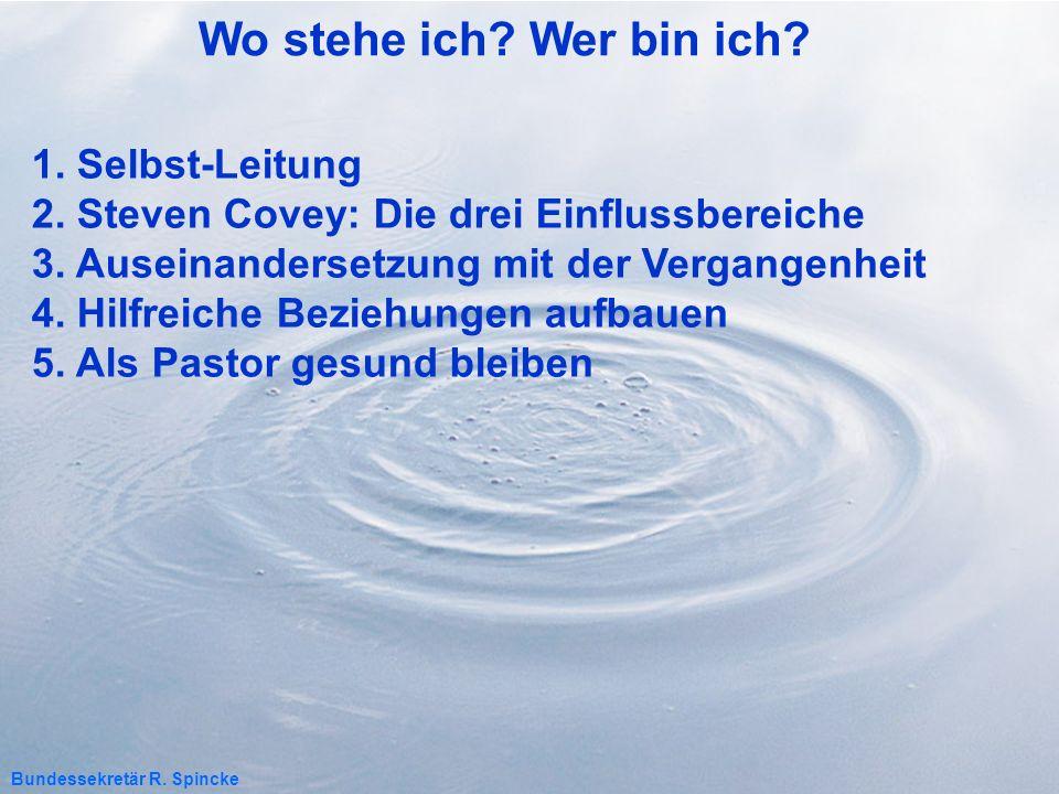 5.1 Sei mit anderen verbunden.Wichtige Beziehungen für gesunde Pastoren 1.
