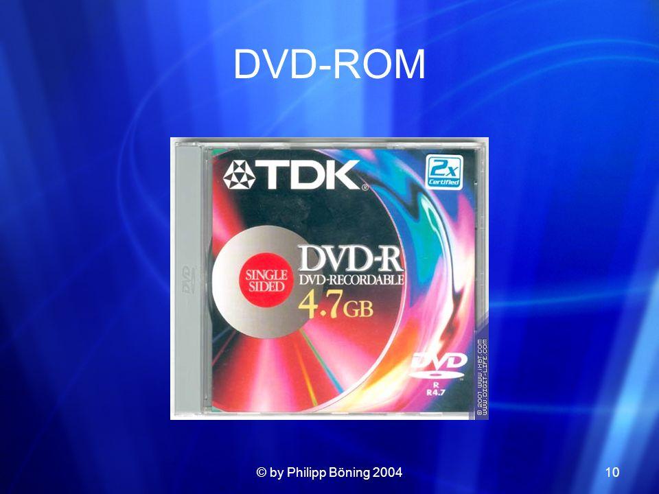 © by Philipp Böning 200410 DVD-ROM