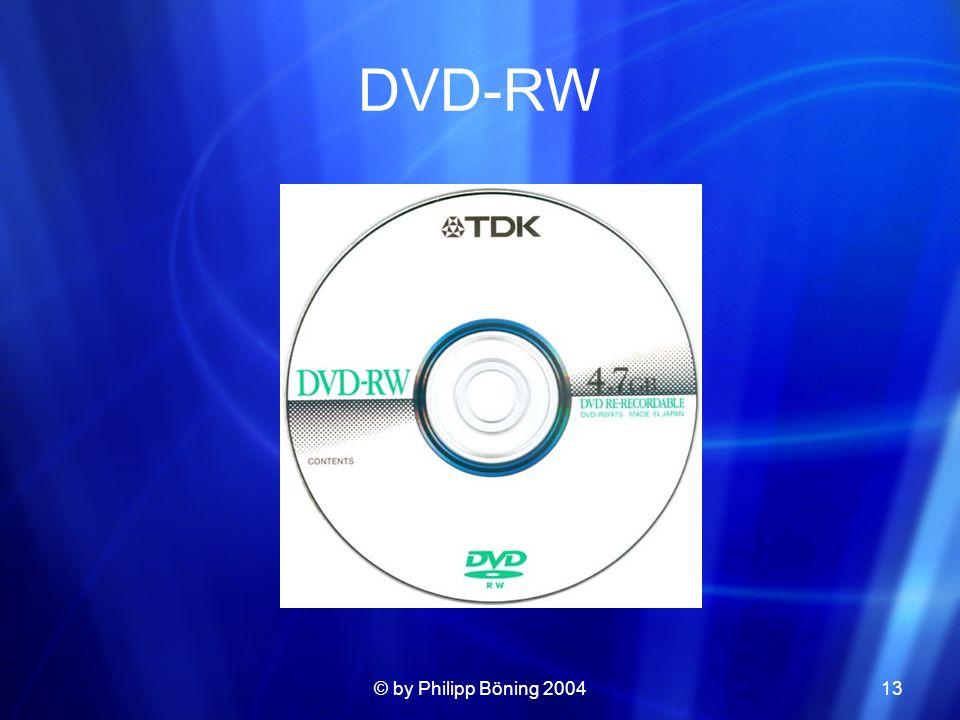 © by Philipp Böning 200413 DVD-RW