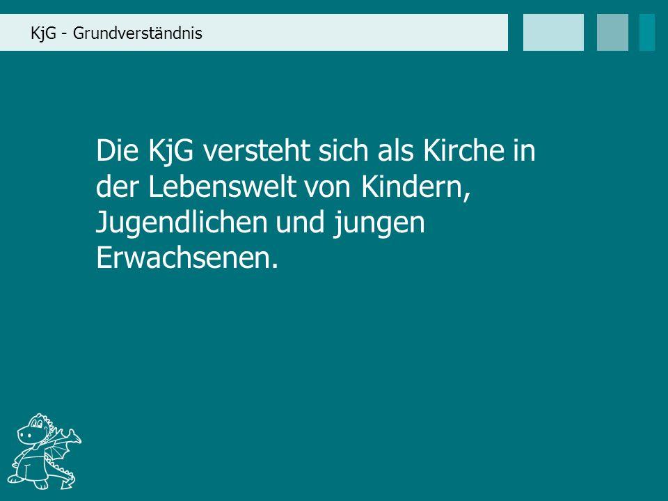 KjG - Grundverständnis Die KjG versteht sich als Kirche in der Lebenswelt von Kindern, Jugendlichen und jungen Erwachsenen.
