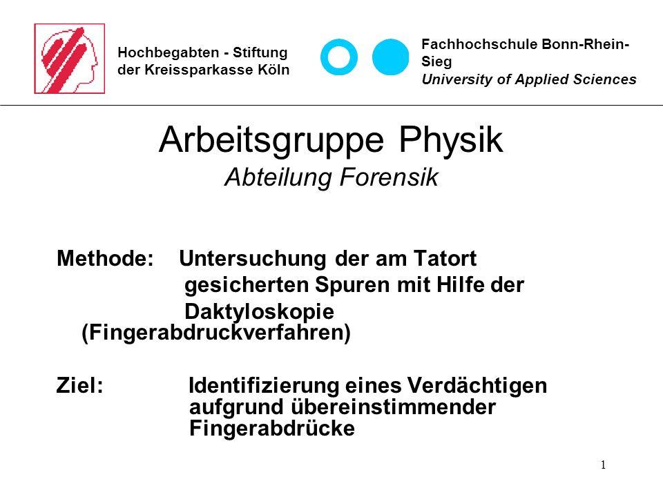 2 Hochbegabten - Stiftung der Kreissparkasse Köln 1.