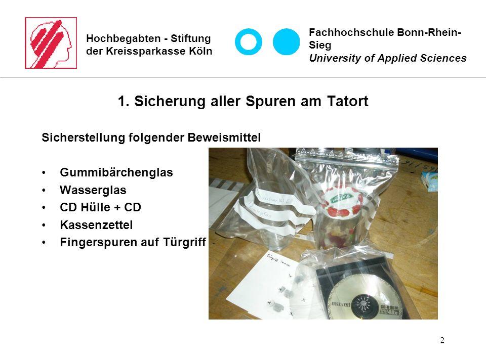 3 Hochbegabten - Stiftung der Kreissparkasse Köln 2.