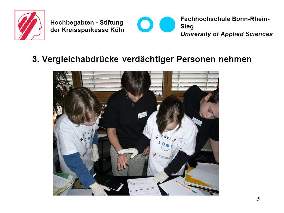 5 Hochbegabten - Stiftung der Kreissparkasse Köln 3.