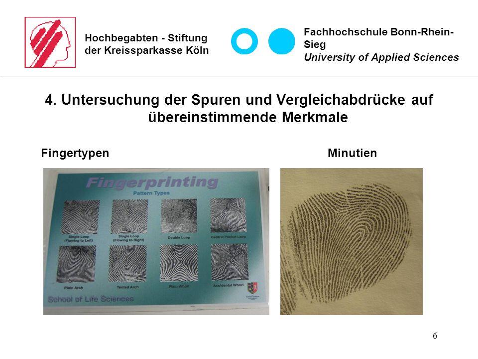 6 Hochbegabten - Stiftung der Kreissparkasse Köln 4.