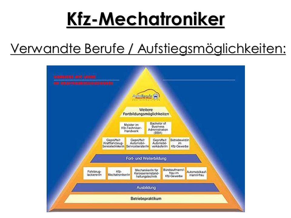 Kfz-Mechatroniker Benötigter Schulabschluss: KFZ-Mechatroniker/-in: in der Regel mittlerer Schulabschluss (Fachoberschulreife) KFZ-Servicemechaniker/-in: mindestens guter Hauptschulabschluss