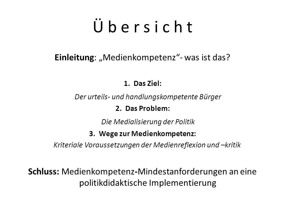 Funktionale Legitimation BVerfGE 20, 174ff.(Spiegel-Urteil v.