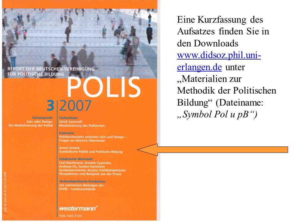 Dieses POLIS-Heft kann in der Fachbibliothek der Didaktik der Sozialkunde ausgeliehen werden. Die Mitglieder der Deutschen Vereinigung für Politische