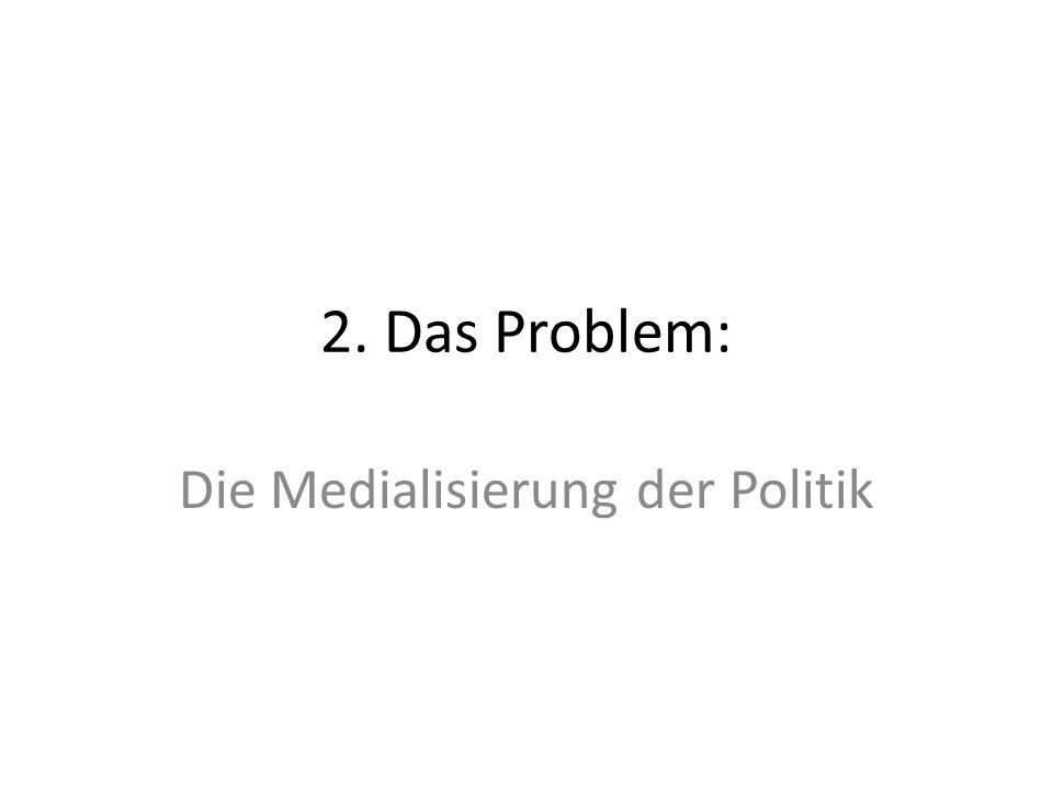 b) Medialisierung und das Verhältnis von Herstellungs- und Darstellungspolitik