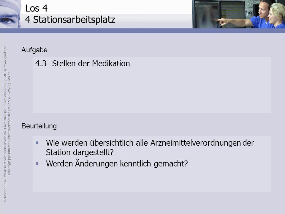 Deutsche Gesellschaft für Medizinische Informatik, Biometrie und Epidemiologie e.V. (GMDS) * www.gmds.de Arbeitsgruppe Klinische Arbeitsplatzsysteme (