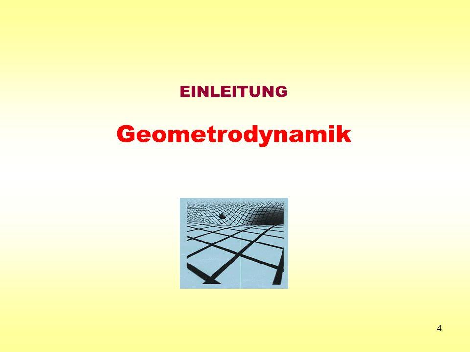 4 EINLEITUNG Geometrodynamik