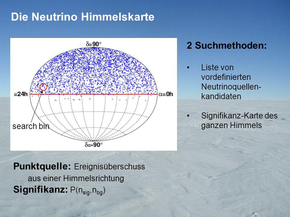 Die Signifikanzkarte Maximale Signifikanz 3.4 ~92% 1000 randomisierte Himmelskarten Preliminary