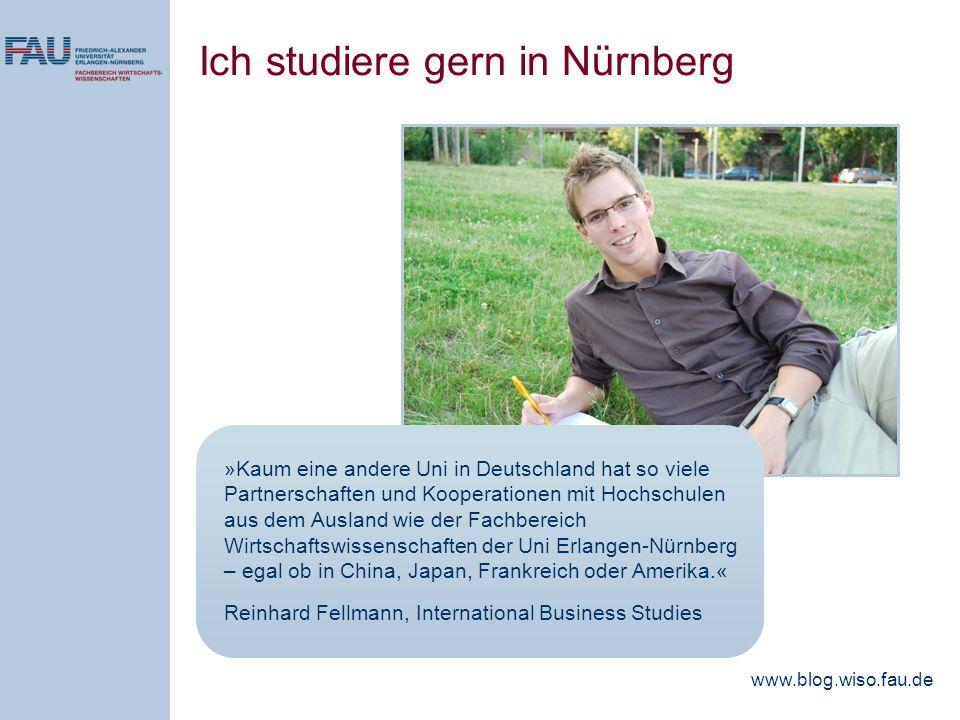 »Kaum eine andere Uni in Deutschland hat so viele Partnerschaften und Kooperationen mit Hochschulen aus dem Ausland wie der Fachbereich Wirtschaftswis