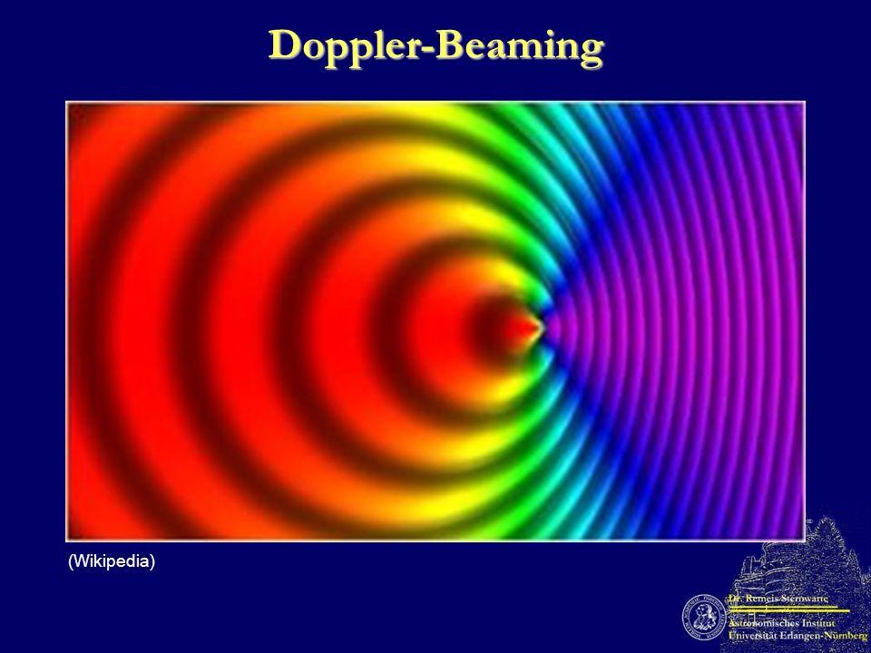 Doppler-Beaming (Wikipedia)