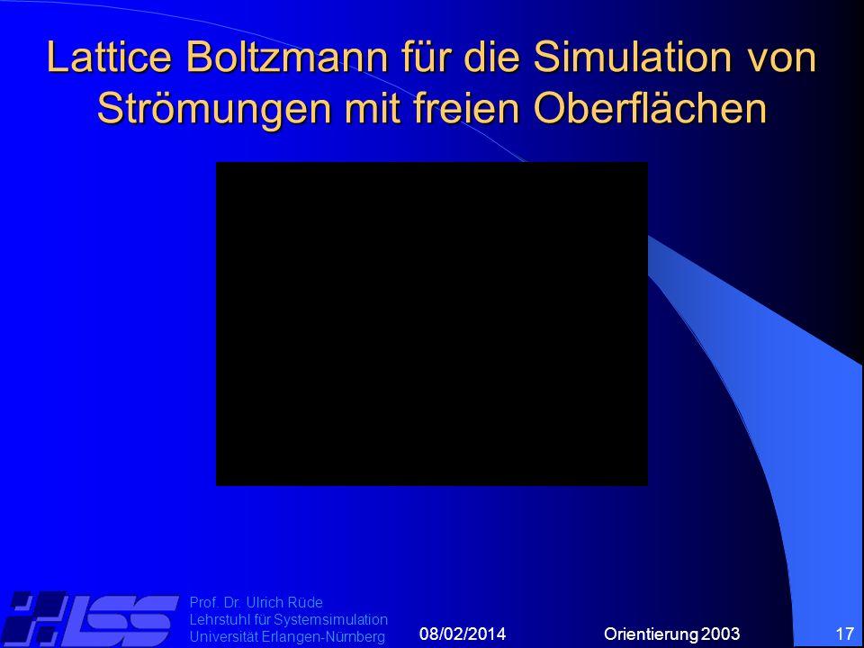 08/02/2014Orientierung 200317 Prof. Dr.