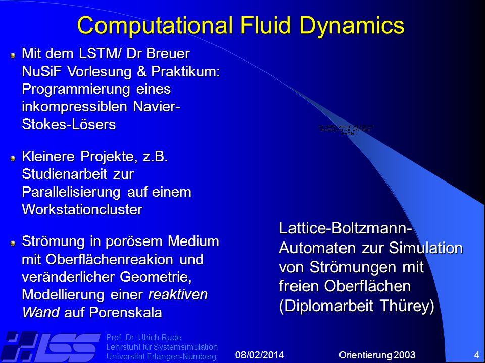 08/02/2014Orientierung 20034 Prof. Dr.