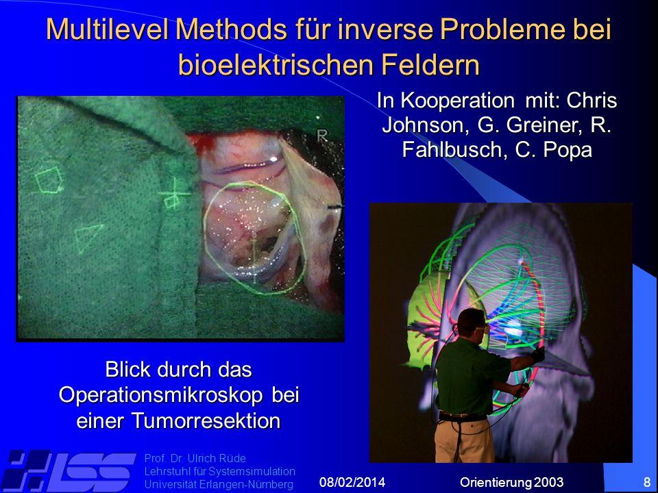 08/02/2014Orientierung 20038 Prof. Dr.