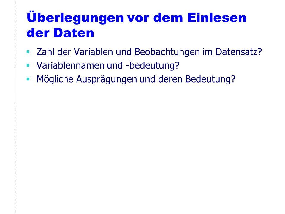 Hilfe Handbücher: am Lehrstuhl verfügbar Direkt in Stata: help für eine allgemeine Einführung wenn der Befehl (z.B.