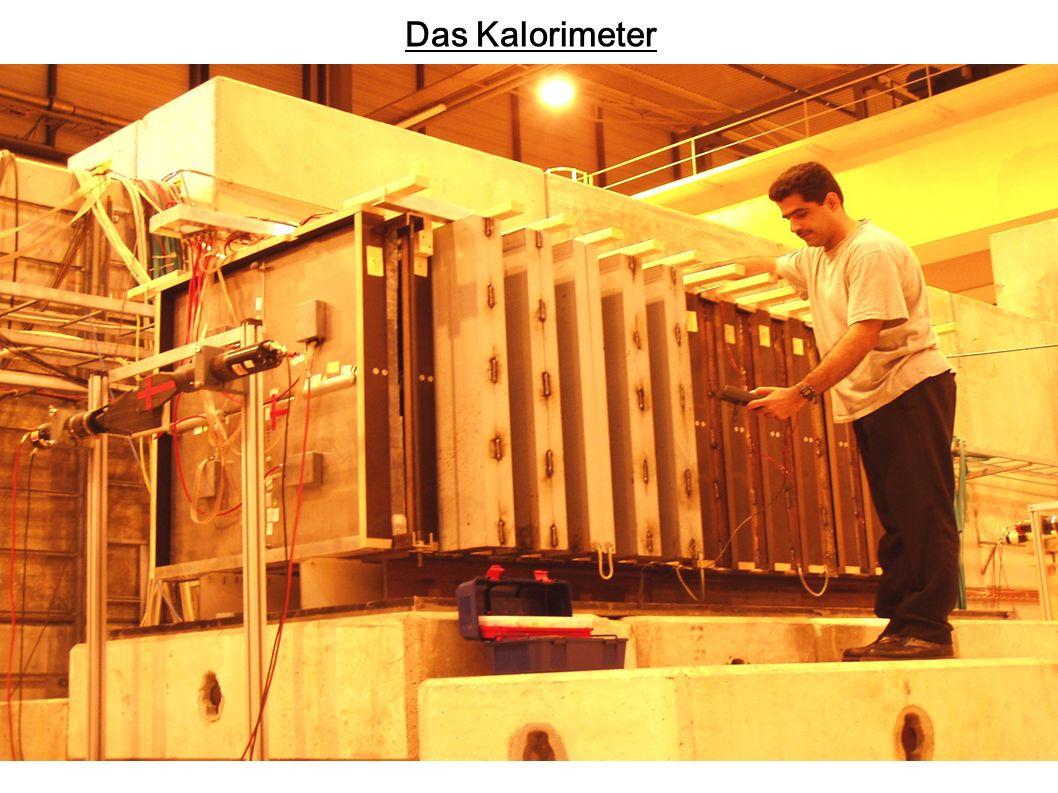 Kalibrierung - Elektronische Kalibrierung mit definierten Ladungspulsen =>Umrechnung von ADC-Werten in fC - Messungen mit 50 GeV Myonen Energieverlust in den Kammern kann berechnet (Bethe-Bloch Formel) oder aus MC-Simulationen bestimmt werden - Gemessene Ladung hängt ab von: - dE/dx -Primärer Rekombination -Verluste durch Unreinheiten