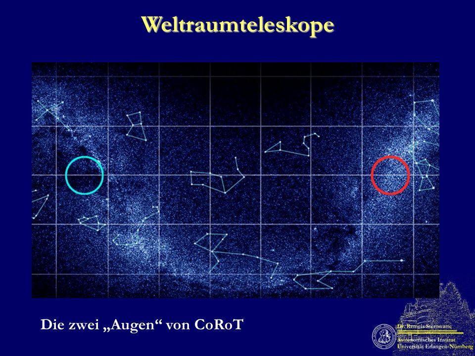 Weltraumteleskope Die zwei Augen von CoRoT